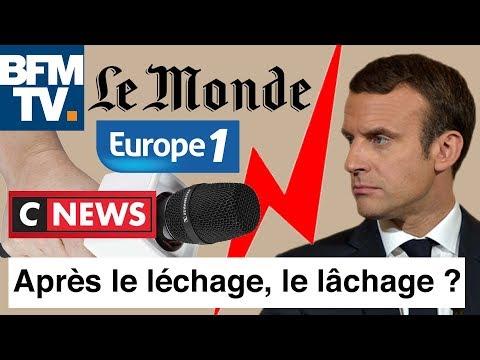 Macron : après le léchage médiatique, le lâchage ? I-Média #223