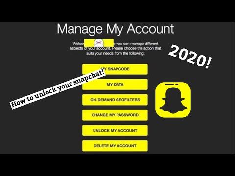 FIX Snapchat Account