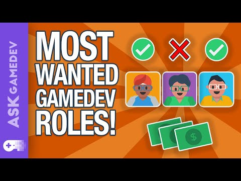 The Hardest Roles To Fill On A Game Development Team!