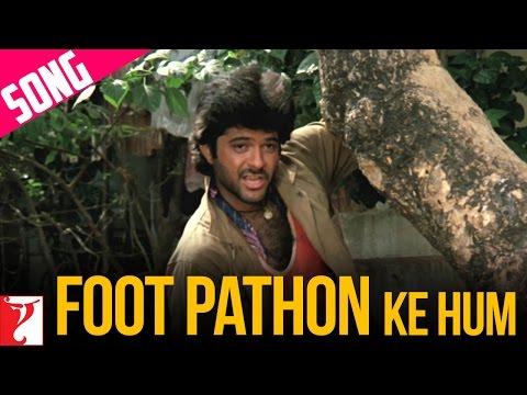 Foot Pathon Ke Hum Song | Mashaal | Anil Kapoor | Rati Agnihotri