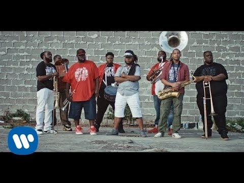 Jus Now & Dismantle ft Busy Signal – Fire (Spotie)  (Official Music Video ft. Hot 8 Brass Band)