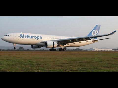 Air Europa a330-200 arribando a San Pedro Sula (MHLM/SAP)