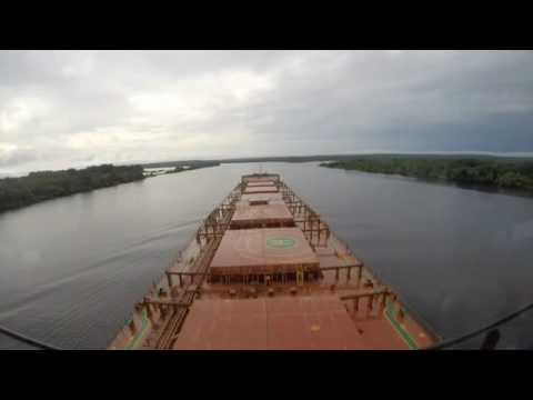 Cargo Ship amazon river