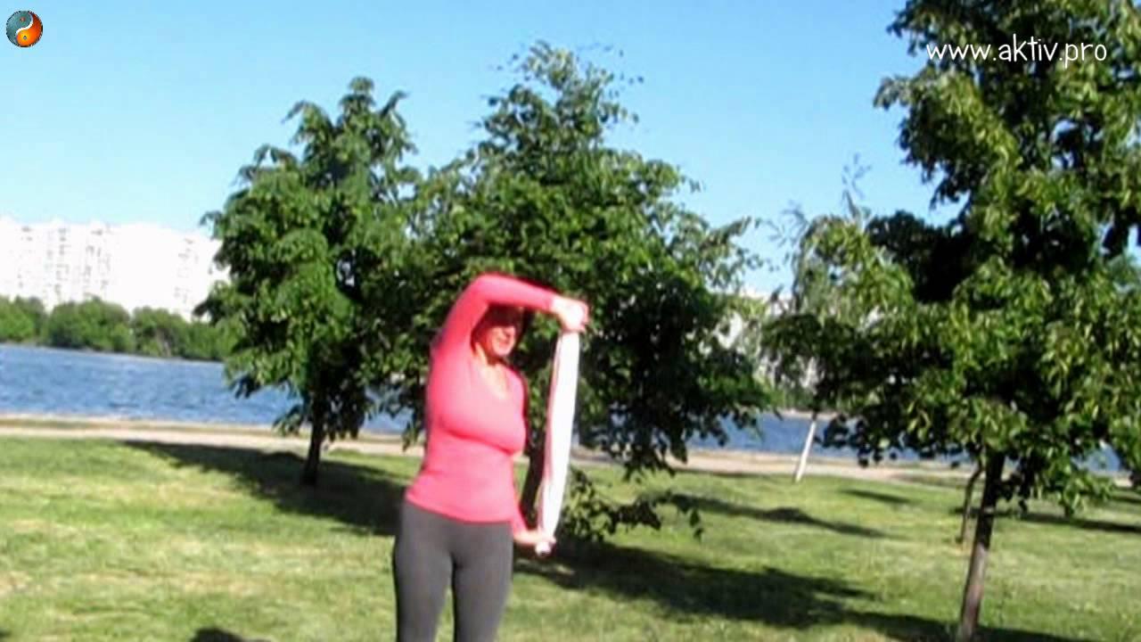 Лесбиянок гимнастика для плечевых суставов видео