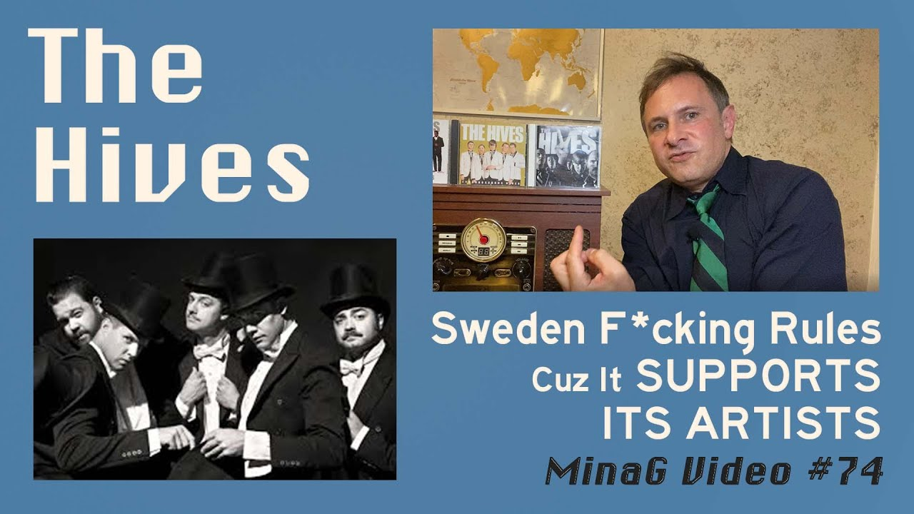 The Hives and the awesomeness of Sweden's arts support