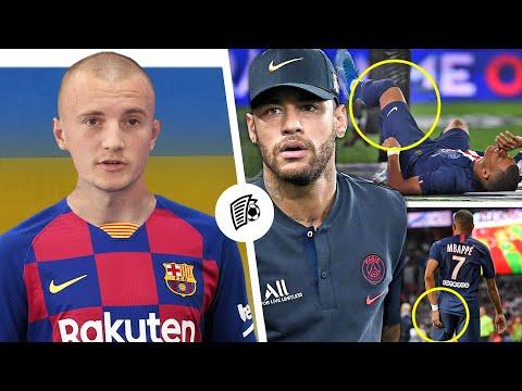 Украинский футболист перейдет в Барселону! Травма Мбаппе сорвала трансфер Неймара?