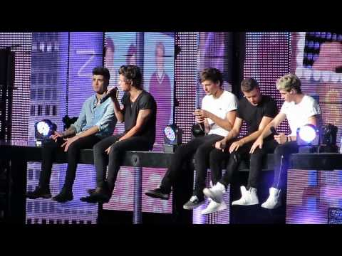 One Direction *Change My Mind* Chicago 7/14/13