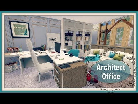 Sims 4 - Architect Office (Room)