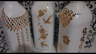 Pintura em garrafa EXCLUSIVA e INÉDITA – Garrafa do Glamour