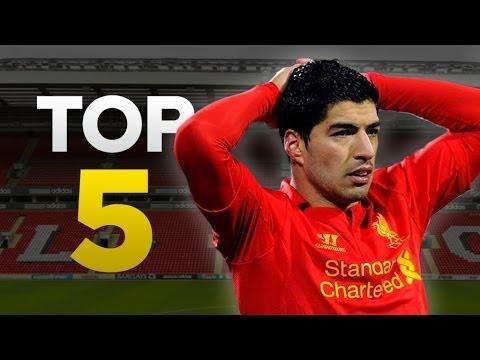 Luis Suarez's Top 5 Crazy Moments