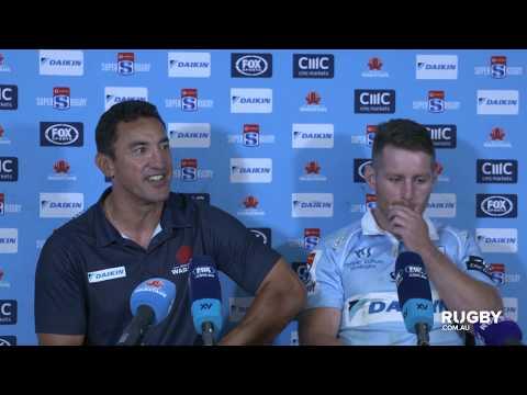 Super Rugby Round Four: Waratahs press conference