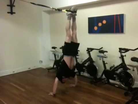 Trx handstand push up Richard green challenge