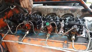 Регулировка клапанов, на тракторе т 40
