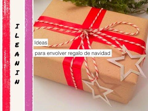 +25 IDEAS DE EMBALAJES DE REGALOS PARA NAVIDAD/CHRISTMAS GIFT WRAPPING
