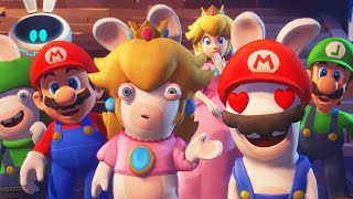 Mario + Rabbids Sparks of Hope Gameplay Trailer Nintendo Switch 2021 HD