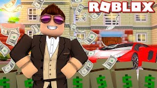 MY NEW HOUSE AND FERRARI! -Roblox Mansion Tycoon 3 Danish with ComKean