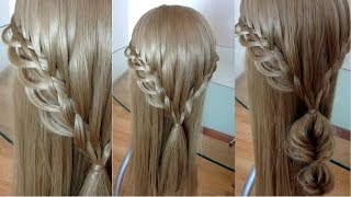 Красивая коса. Коса водопад. Amazing hair tutorial. Видео-урок.