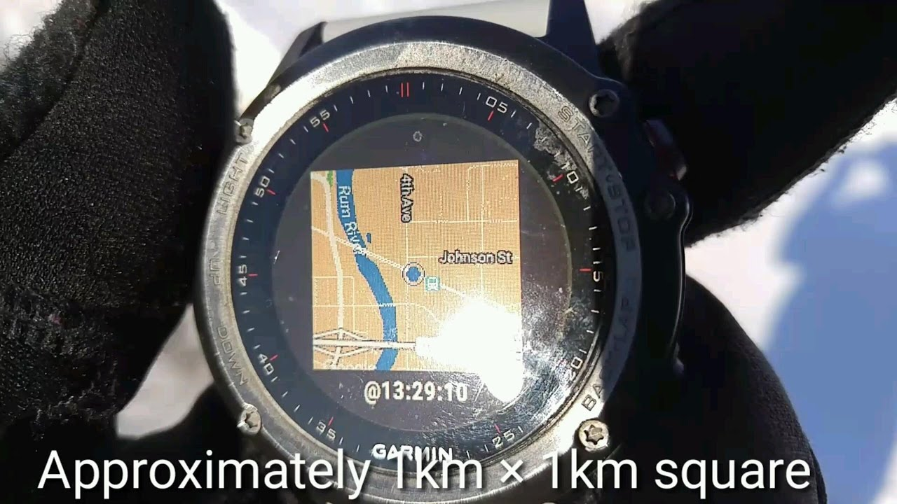 Garmin Fenix 3 : Best All-Around Mapping & Activity Application Ever!