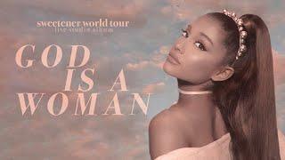 Ariana Grande - god iṡ a woman (sweetener world tour: live studio version w/ note changes)