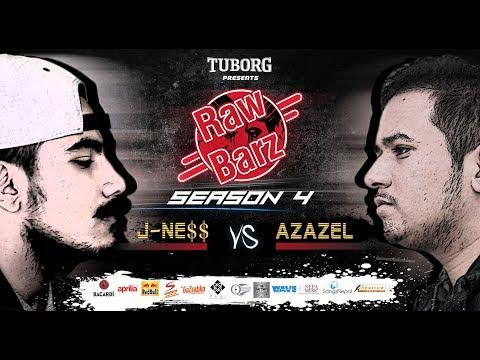 JNESS VS AZAZEL (Official Battle)   Tuborg Presents RawBarz Rap Battle Season 4 EP 3 2018 Video
