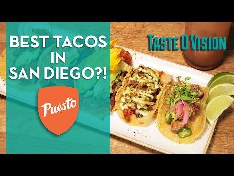 Puesto • San Diego's Best Restaurants • TasteOVision #17
