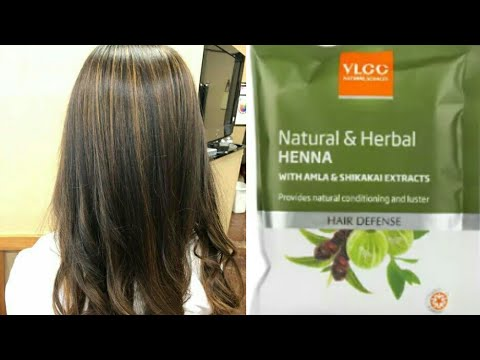 Vlcc Henna Pack Review L Best Henna For Hair L Natural Haircolor L