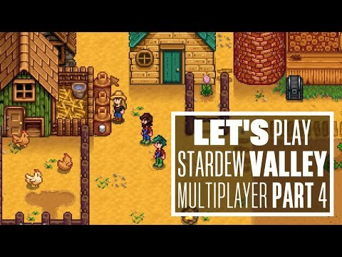 Let's Play Stardew Valley Multiplayer - THE ONE WHERE JOHNNY EATS AN EGG!