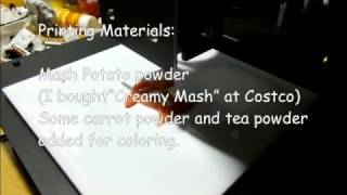 KoiFish 3DFoodPrint