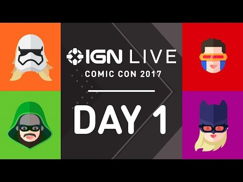 San Diego Comic Con 2017: Exclusive Access & Interviews - IGN Live (7/20)