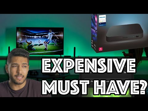 Upgrade Your Movie Watching Game With This! Philips Hue Play HDMI Sync Box