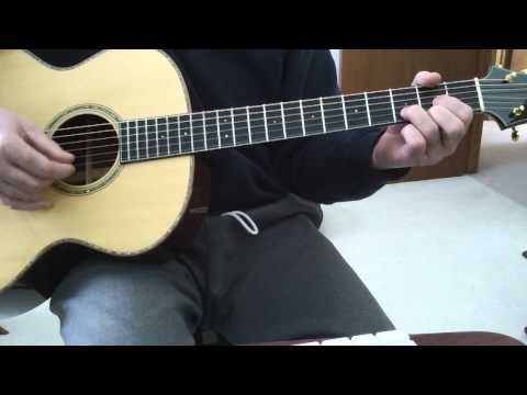 Take me back acoustic lesson for intro/verse