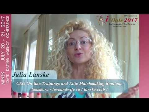 Julia Lanske on Reverse Business Model Strategy @ iDate Minsk July 20-21, 2017 Conference