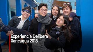 """Experiencia """"Delibera"""" - Rancagua 2018"""