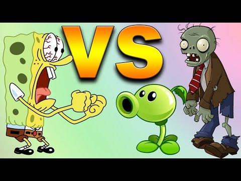 Spongebob VS Plants VS Zombies