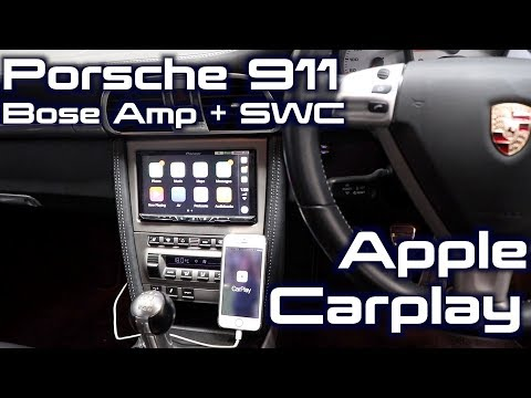 Porsche 911Gets a Pioneer AVH-Z5050bt | CarPlay + BOSE + Steering Wheel Controls!