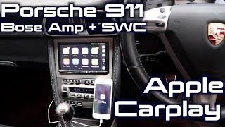 Porsche 911Gets a Pioneer AVH-Z5050bt   CarPlay + BOSE + Steering Wheel Controls!