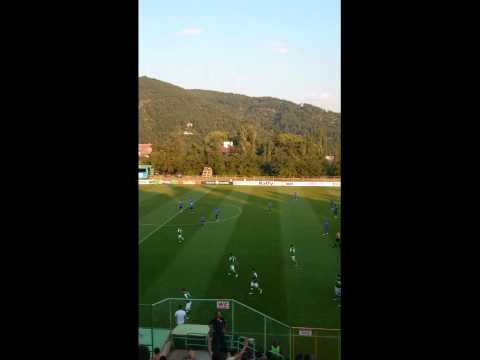 Pirin Blagoevgrad First Goal Celebration Against Cherno More