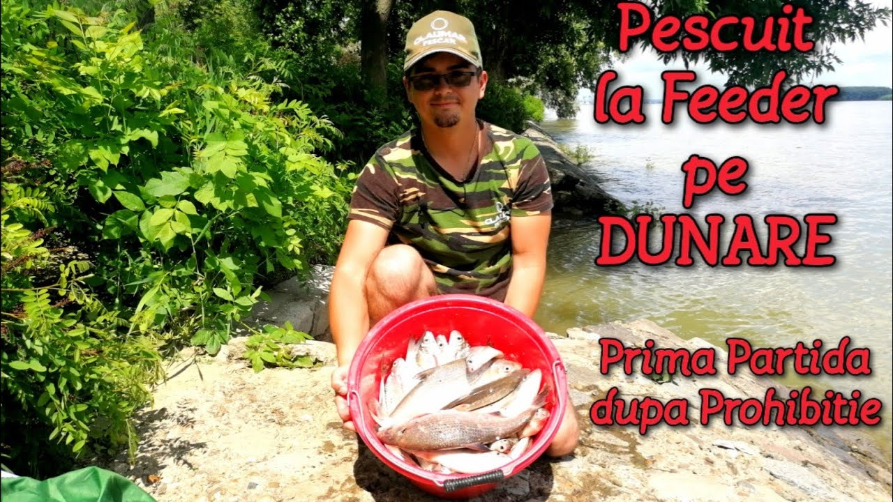 Download Pescuit la FEEDER pe DUNĂRE - prima PARTIDĂ după PROHIBIȚIE pe FALEZA DUNĂRII din GALAȚI