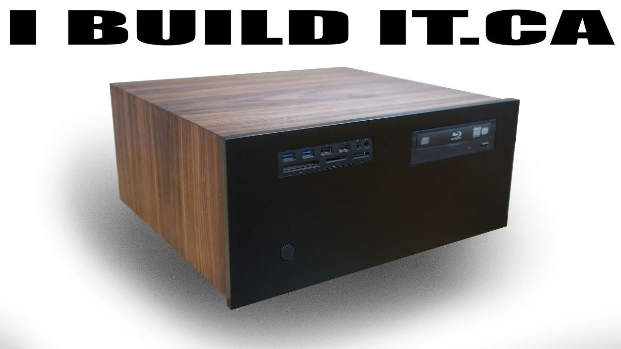 Wooden Pc Case Build