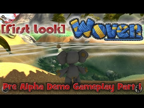 [First Look] Woven (Pre-Alpha Demo Gameplay) Part 1