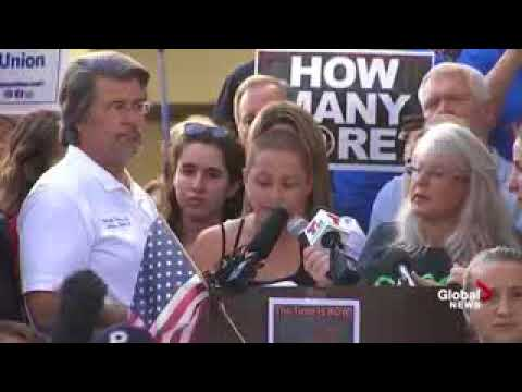 'We call BS'  Florida students demand stricter gun control laws