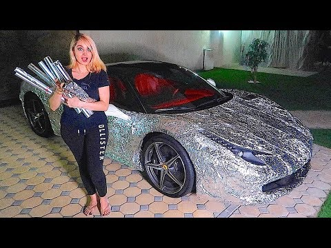 Download Youtube: WRAPPING MY BROTHERS FERRARI *REVENGE PRANK *!!!