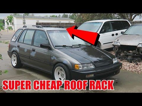 DIY 20$ Junkyard Roof Rack