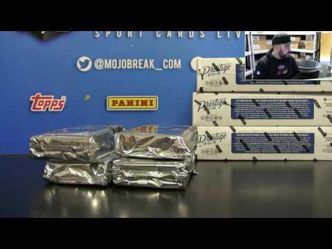 DB 2016 Panini Prestige Football 6 Box Random Break