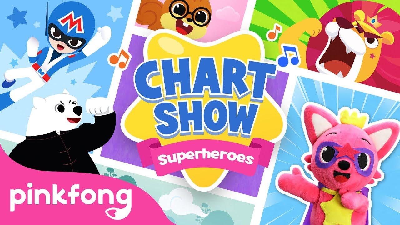 I wanna be a Superhero | Pinkfong Baby Shark Chart Show | Pinkfong Show for Children