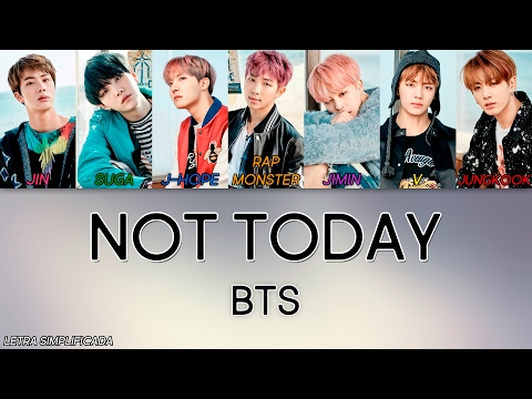 Como Cantar Not Today - BTS (Letra Simplificada)