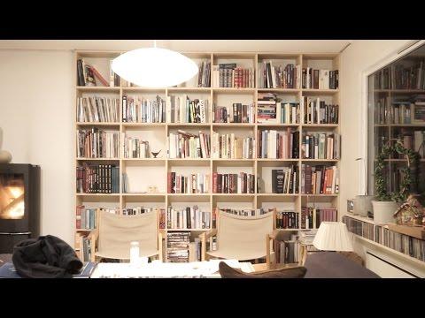 Making Ash bookshelf