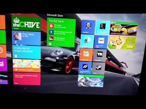How to put desktop shortcuts on to the Windows 8.1 start screen