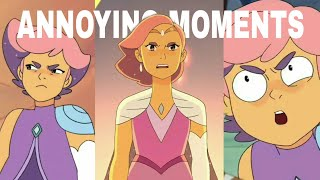 Glimmer Annoying & Terrible Moments (She-Ra s1-s5)