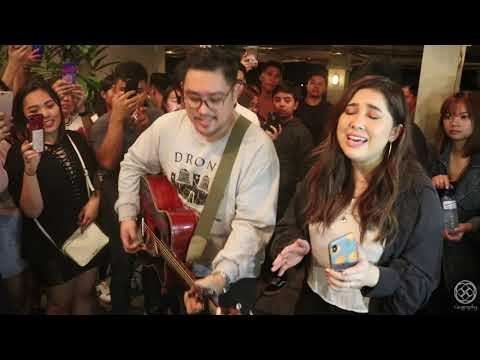 KUNG DI RIN LANG IKAW DECEMBER AVENUE FEATURING MOIRA LIVE ACOUSTIC AT 19EAST BUSKING STYLE